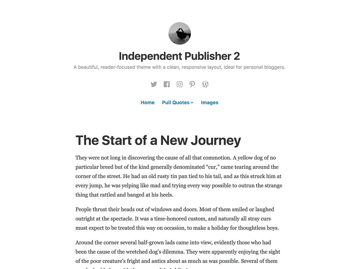 independent publisher 2 wpcom